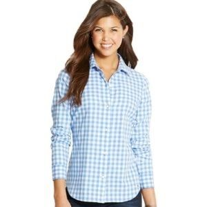 Vineyard Vines Gingham Collared Button Down